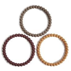 Achat Dentition Lot de 3 Bracelets de Dentition - Berry Marigold & Khaki