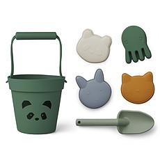 Achat Mes premiers jouets Set de Plage Dante - Panda Garden Green Multi Mix