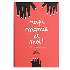 Achat Livre & Carte Papi, Mamie et Moi