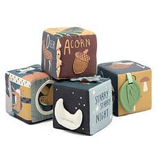 Achat Mes premiers jouets Cubes en Tissu Nightfall