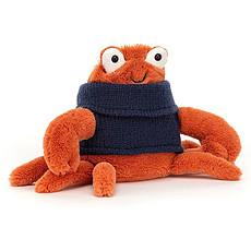 Achat Peluche Cozy Crew Crab