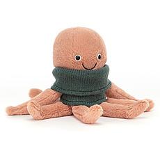 Achat Peluche Cozy Crew Octopus