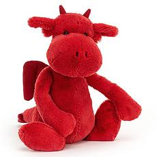 Achat Peluche Bashful Red Dragon - Medium