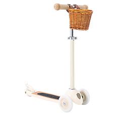 Achat Trotteur & Porteur Trottinette Scooter - Crème