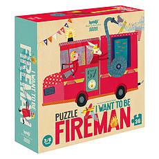 Achat Mes premiers jouets Puzzle Je Veux Être un Pompier