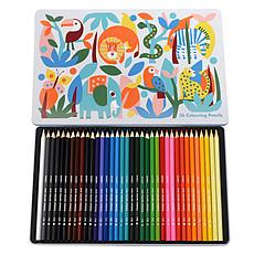 Achat Livre & Carte Boîte de 36 Crayons de Couleurs Wild Wonders