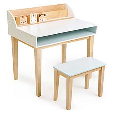 Achat Table & Chaise Bureau et Chaise - Blanc et Naturel