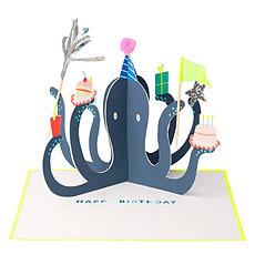 Achat Livre & Carte Carte d'Anniversaire Party Octopus
