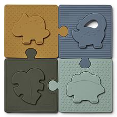 Achat Mes premiers jouets Puzzle Bodil - Dino Blue Multi Mix