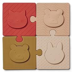 Achat Mes premiers jouets Puzzle Bodil - Rose Multi Mix