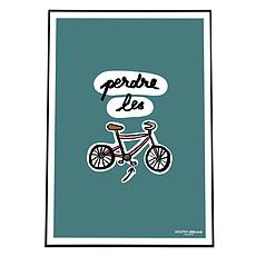 Achat Affiche & poster Affiche Perdre les Pédales