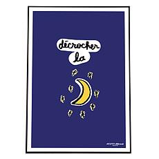 Achat Affiche & poster Affiche Décrocher la Lune