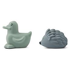 Achat Mes premiers jouets Lot de 2 Jouets de Bain Henrik - Peppermint & Whale Blue Multi Mix
