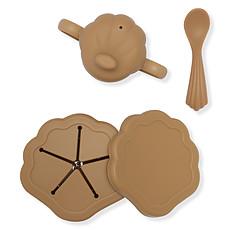 Achat Coffret repas Set de Repas 3 Pièces Coquillage - Almond