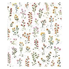 Achat Papier peint Papier Peint Queyran - Fleurs Bucoliques