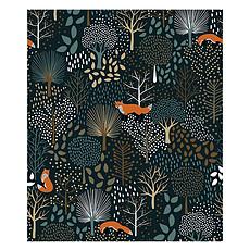 Achat Papier peint Papier Peint Forest - Arbres et Animaux de la Forêt