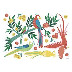 Achat Sticker Sticker Géant Rio - Les Perroquets