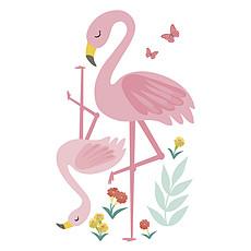 Achat Sticker Grand Sticker Rio - Les Flamants Roses