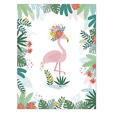 Achat Affiche & poster Affiche Flamant Rose