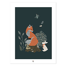 Achat Affiche & poster Affiche M. Fox - Renard et Lapin