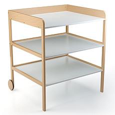 Achat Table à langer Table à Langer Clara XL - Naturel et Blanc