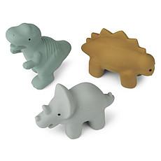 Achat Mes premiers jouets Lot de 3 Jouets de Bain David - Dino Blue Multi Mix