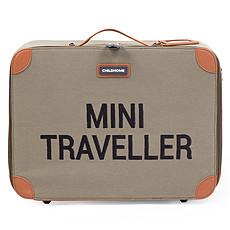 Achat Bagagerie enfant Valise Mini Traveller Canvas - Kaki et Noir