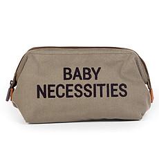 Achat Trousse Trousse de Toilette Baby Necessities Canvas - Kaki