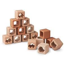 Achat Mes premiers jouets Blocs de Construction Loren - Rose Multi Mix