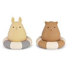 Achat Mes premiers jouets Lot de 2 Jouets de Bain - Blue & Almond