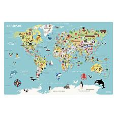 Achat Mes premiers jouets Carte du Monde Magnétique Ingela P. Arrhenius