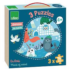 Achat Mes premiers jouets Puzzles Animaux du Monde