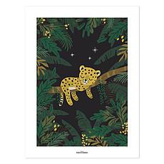 Achat Affiche & poster Affiche Jungle Friends - Petit Guépard Endormi
