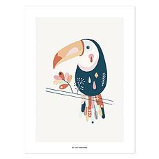 Achat Affiche & poster Affiche Toucan Pastel