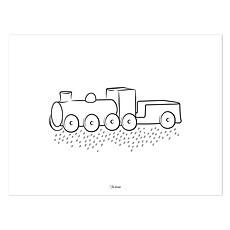 Achat Affiche & poster Affiche Locomotive