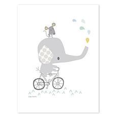 Achat Affiche & poster Affiche Smile When It's Raining - Bébé Eléphant