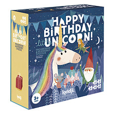 Achat Mes premiers jouets Puzzles Bon Anniversaire Licorne