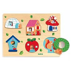 Achat Mes premiers jouets Puzzle Coucou-house