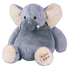 Achat Peluche Eléphant géant