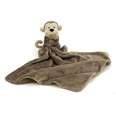 Achat Doudou Bashful Monkey Soother - Doudou singe