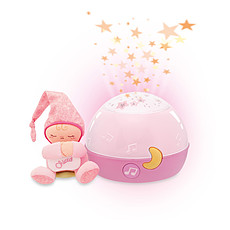 Achat Veilleuse Ma Lampe Magic'Projection First Dreams Rose