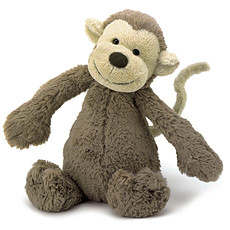 Achat Peluche Bashful Monkey - Medium