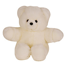 Achat Peluche Peluche Ours Collection Blanc 60 cm