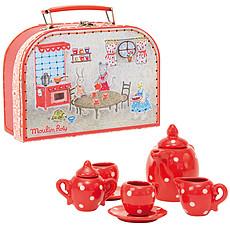 Achat Mes premiers jouets Valise Dînette à Pois - La Grande Famille