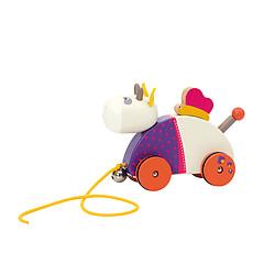 Achat Mes premiers jouets Vache à Tirer - Les Cousins du Moulin