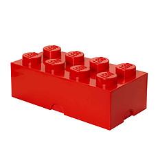 Achat Boite & Sac Brique Rangement Empilable 8 plots LEGO® Rouge