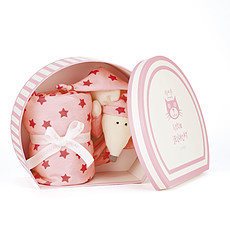Achat Doudou Starry Nights Pink Mouse Comforter - Doudou Souris 74 cm