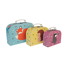 "Achat Boite & Sac Set de 3 Valisettes ""Rusty and Friends"""