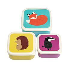 """Achat Vaisselle & Couvert Set de 3 Boites Lunch """"Rusty and Friends"""""""
