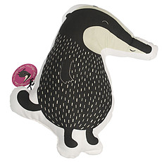 "Achat Coussin Coussin ""Mr Badger"""
